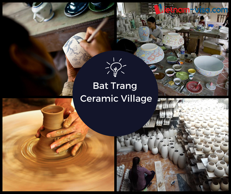 Bat Trang Ceramic Village - Vietnam visa in India