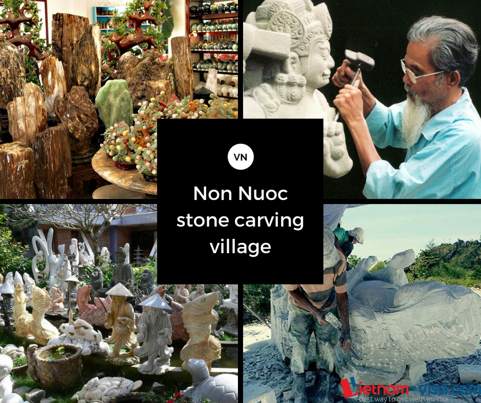 Non Nuoc Stone Carving Village in Da Nang
