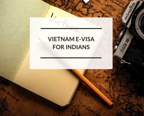 Vietnam e-visa for Indian citizens