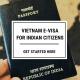 Vietnam evisa for Indians